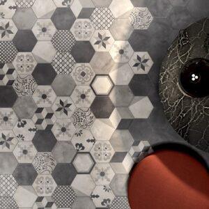 carrelage style carreaux de ciment