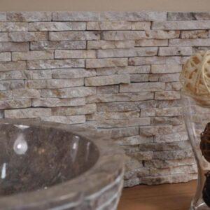 Parement gris en pierre naturelle Appennini Grigio