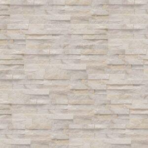 parement blanc en pierre naturelle